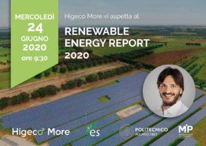 Renewable Energy Report 2020